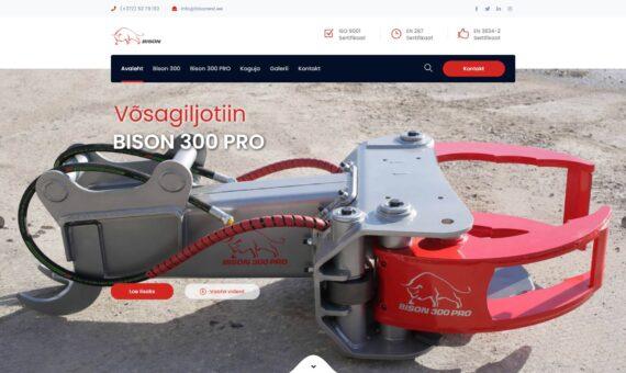 Bisonest - rasketehnika veebileht